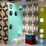 modern tasarım renkli paravan  tasarımı