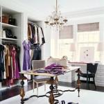 modern ve çok şık giyinme odaları elbise dolapları