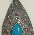 otantik gümüş kolye ucu 2012 trend