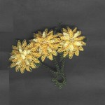 papatya çiçekli iğne oyası yazma modeli