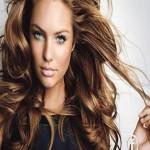 parlak kahverengi saç renk modası 2012