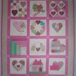patchwork bebek yatak örtü battaniye