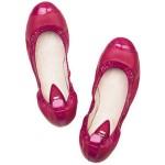 pembe babet rugan ayakkabı