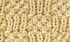 Düz ve Ters Örgü İlmekleri Pirinç Patlağı