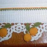 ponponlu havlu kenarı örneği