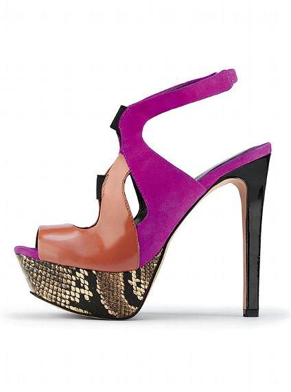 süet deri renkli platform ayakkabılar