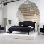 süper lüks yatak odaları ev dekorasyonu