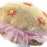 saçaklı ipyen şapka modeli