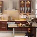 sade amerikan mutfak tasarımı