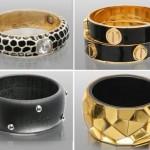 siyah ve altının birarada muhteem şıklıkta altın örnekleri