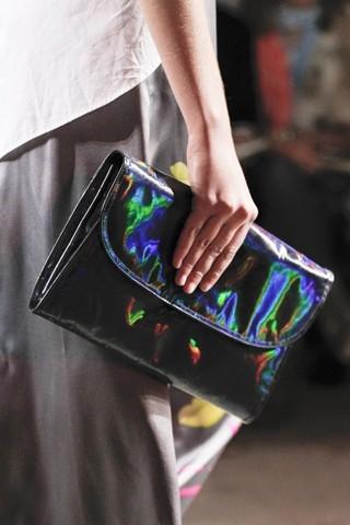 son moda pırıltılı şık el çantası modelleri