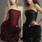tafta eteği kabarık elbise moda trendleri