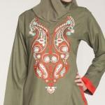 tesettür modası 2011 Yeni Moda Tunik Modelleri