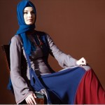 uzun bayan elbise dizaynı