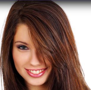 uzun kahverengi saç modeli