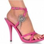 yeni trend taşlı gece ayakkabısı