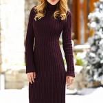 zarif yeni kışlık elbise koleksiyonu