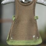 çok şık örgü işi bebek elbiseleri