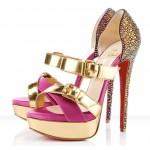 çok şık fanteztaşlı topuklu ayakkabı modelleri