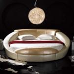 çok modern lüks yuvarlak yatak örtü modelleri