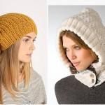 çok trend örgü şapka modelleri