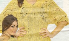 Merserize Yarasa Kollu Bayan Bluz modeli