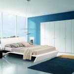 İtalyan Modern Beyaz Yatak Odası Tasarımı