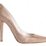 ışıltılı sivri burun yüksek topuk ayakkabı dizaynları