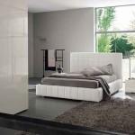 Şık Beyaz Bazalı Yatak Modeli