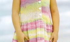 Sıfır Kollu Renkli Çocuk Örgü Jile Modeli