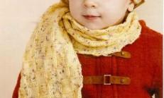 Püsküllü Sarı Renkli Atkı Bere Modeli