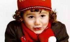 Tweety Yazılı Kırmızı Erkek Çocuk Atkı Bere Modeli