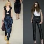 2012 pileli dar paça pantolon modelleri