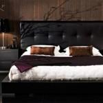 2012 siyah deri yatak odası dizaynları