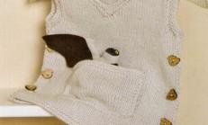 Kanguru Cepli Erkek Çocuk Örgü Süveter Modeli
