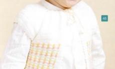 Pıtırcık Oyalı Renkli Kız Çocuk Yelek Modeli
