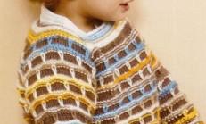 Renkli Haraşo Modelli Erkek Çocuk Kazak Modeli