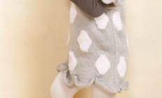Etek Uçları Oval Modelli Çocuk Elbise Örneği