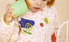 Üzeri İşlemeli Değişik Kız Çocuk Hırka Modeli