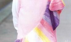 Gökkuşağı Kemerli Örgü Kolsuz Elbise Modeli