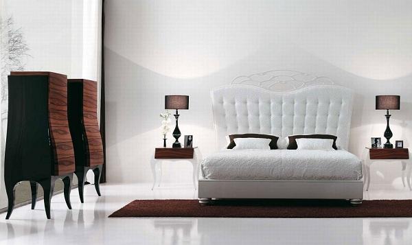 Beyaz Yatak Odası Tasarımı