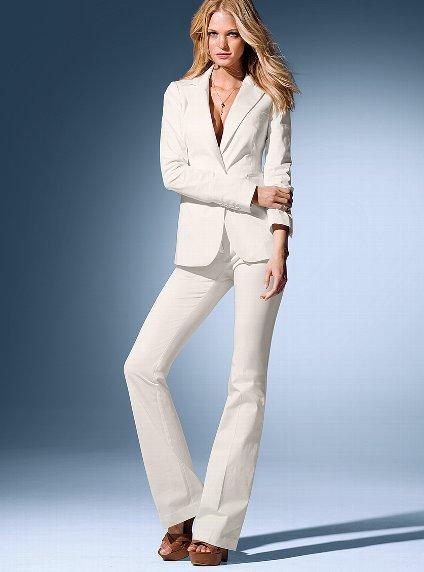 Ön Bağcıklı Puanlı Pantolon Ceket Takım