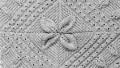 Geometrik Desenli Battaniye Örneği
