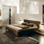 Kahve bej yatak odaları
