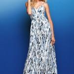Maksi tasarım askılı elbise modelleri