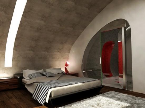 Ultra Modern Yatak Odası