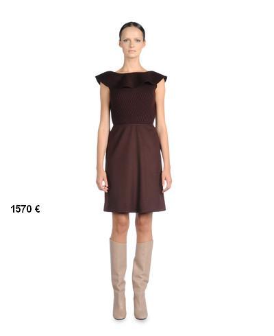 Valentino-2012-kış-sonbahar-kahverengi-elbiseler