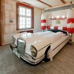 Yatak Odası Araba Sevenler Tasarımlar