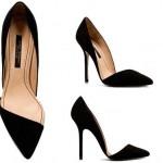 Zara abiye yüksek topuk sivri burun ayakkabı modeli