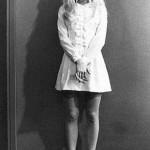 beyaz mini dantelli nostalji elbise modeli örneği